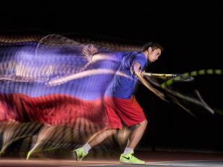 Tennis en Motion Sculpture-16