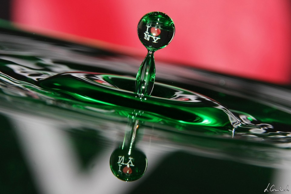 Goutte d'eau - water drop