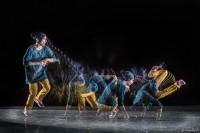 Mouvement de danse hip-hop avec le procédé Motion Sculpture
