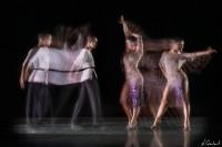 Mouvement de danse sportive avec le procédé Motion Sculpture