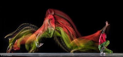 Fresque de danse pour le Centre de Formation Danseà Cergypar procédé de motion sculpture (MSL) et Light Modeler. Cergy Sport Dance fresco using motion sculpture processand light modeler