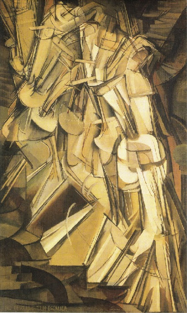 "Marcel Duchamp "" Nu descendant un escalier #2"", 1912 (8)"