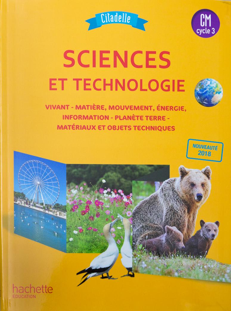 Science et technologie Hachette 2018
