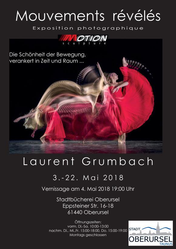 Affiche exposition Motion Sculpture Oberursel