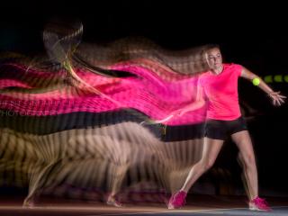 Tennis en Motion Sculpture-17