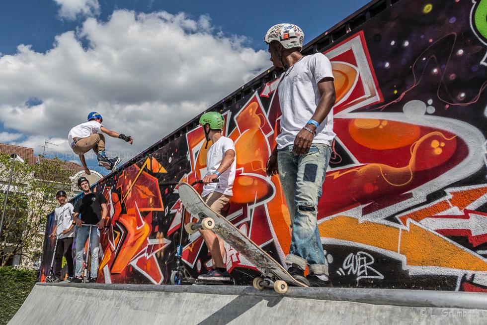 Inauguration Skatepark de Cergy