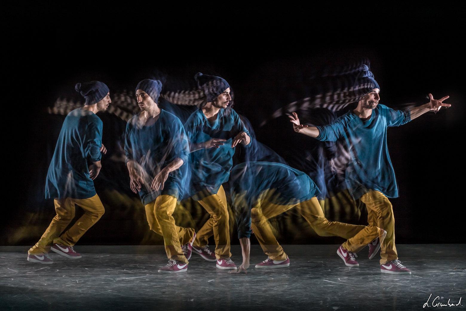 Mouvement danse hip-hop en Motion Sculpture - Sport