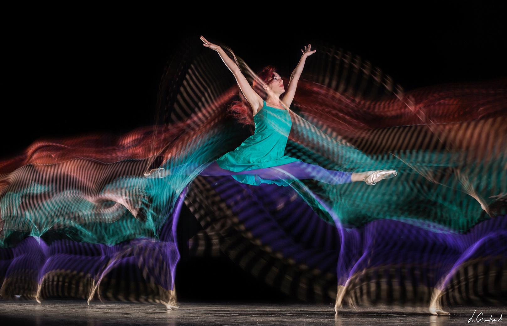 Fresque photo de mouvement de danse - Dance motion photo fresco - Motion Sculpture